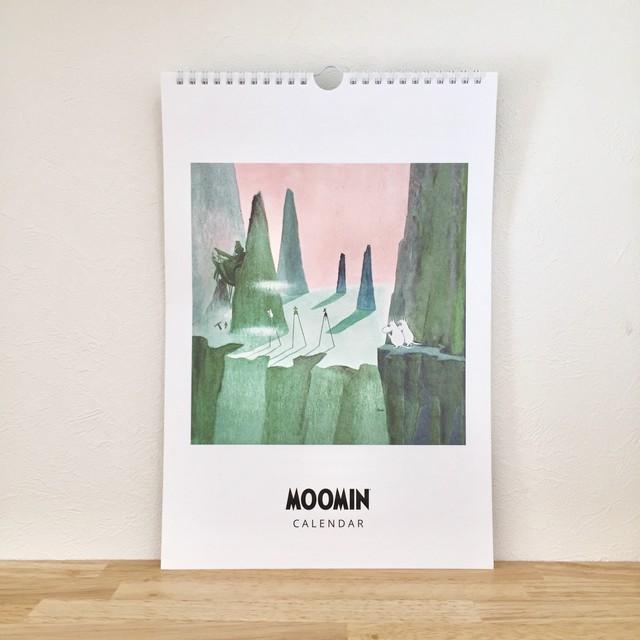 送料無料【ムーミン】万年カレンダー MOOMIN 原画 フィンランド製
