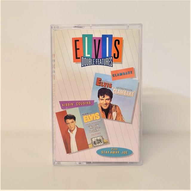 [中古カセット]  Elvis Presley – Kissin' Cousins, Clambake and Stay Away, Joe