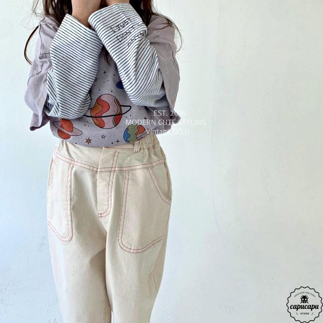 «sold out» go.u stitch pants ステッチパンツ
