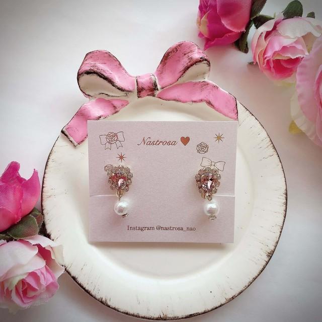 stella pearl♡elegant flower pink