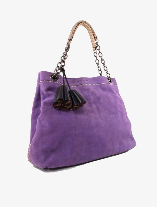 BARBARA BUI SUEDE LETHER BAG