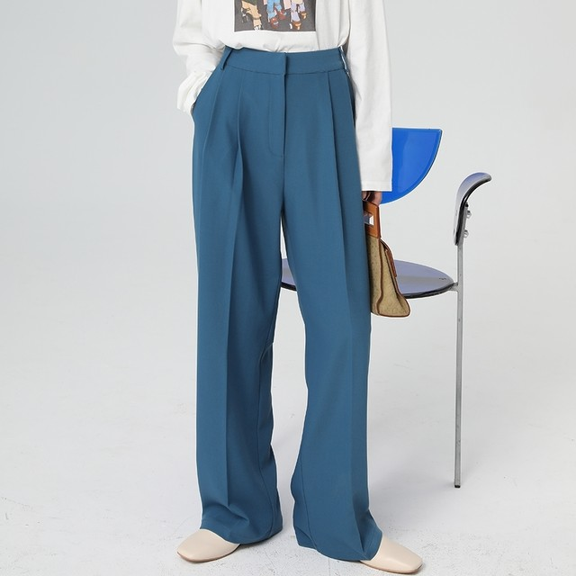 Drape suit pants(ドレープスーツパンツ)a-686