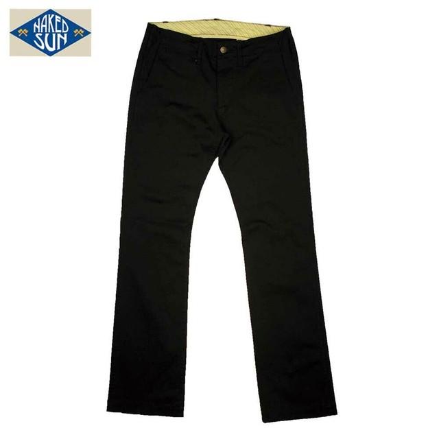 013007004(ST-CHINO STRAIGHT)BLACK