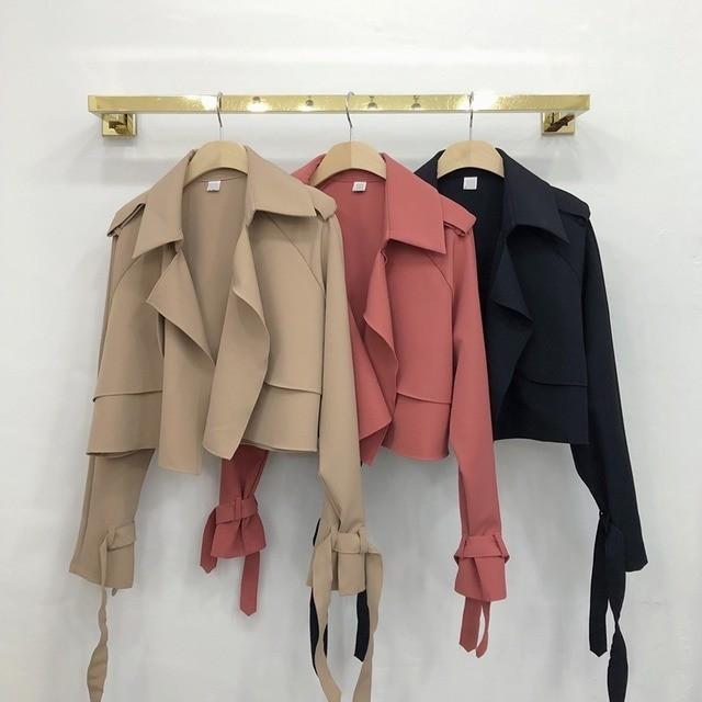ロエエナメルフェイク羊毛ジャケット ジャケット アウター 韓国ファッション