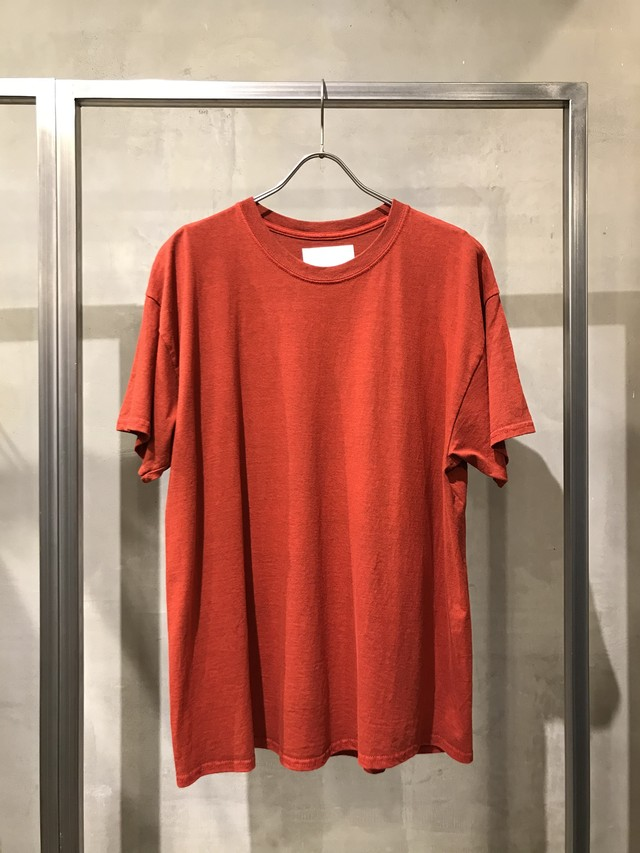 TrAnsference crew neck T-shirt - red(dull)