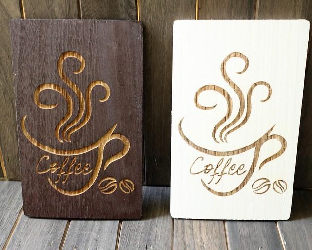 CAFE風インテリア コーヒーウォールアート セット(ブラウン&ホワイト)お洒落インテリア雑貨 ウォールアート インテリアパネル