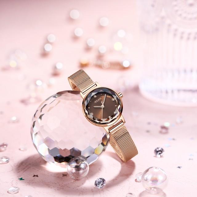 Julius AF-1154(Black) レディース腕時計