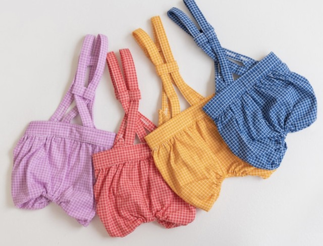 【Opaaap】Lace Overall Romper