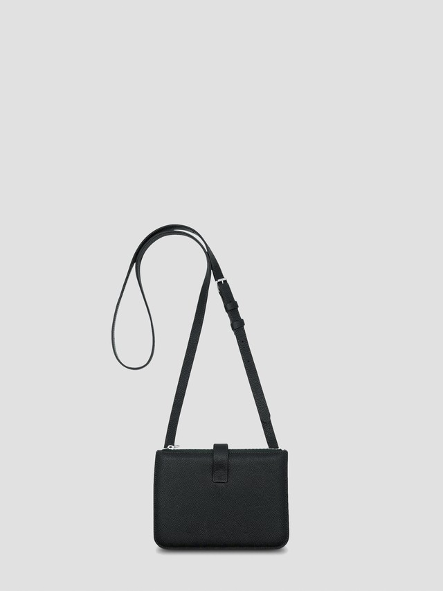 MAISON MARGIELA Mini Leather Messenger Bag Forest S35UI0533