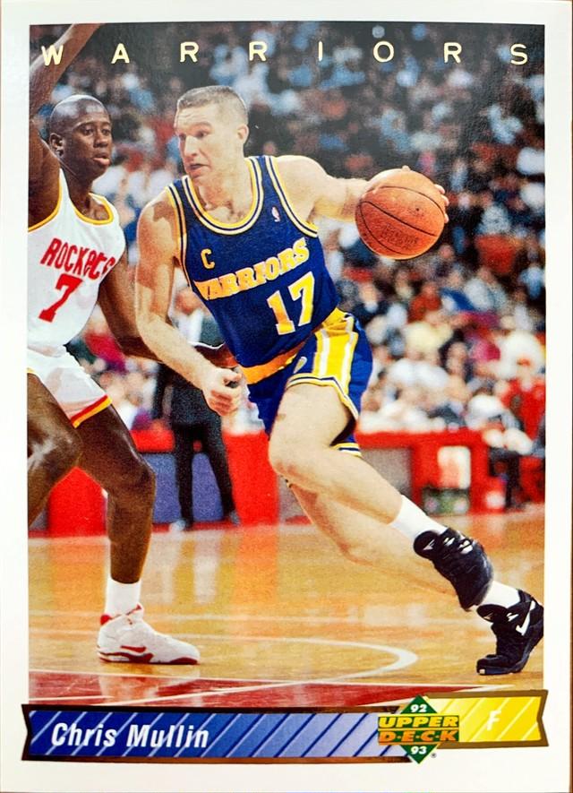 NBAカード 92-93UPPERDECK Chris Mullin #297 WARRIORS
