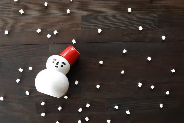 『SP3A18-28』『徳利』『雪だるま徳利(赤帽子カップ付 )』  *冬に最適の可愛い器 丸モ高木陶器 冬 可愛い ウィンター 笑顔 お酒 ロマンチック 徳利