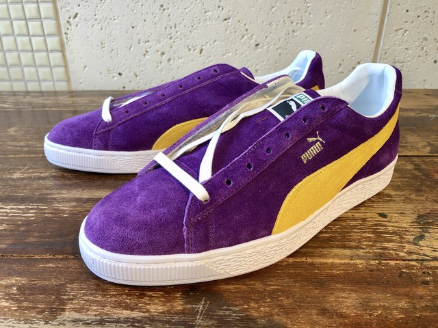 PUMA SUEDE CLASSIC X COLLECTORS (HELIOTROPE-SPECTRA YELLOW)