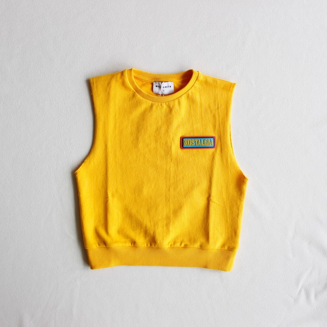 《WOLF & RITA 2019SS》Flor jumper / yellow