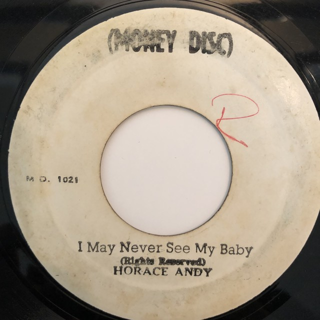 Horace Andy - I May Never See My Baby【7-20335】
