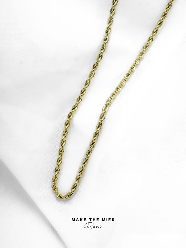 316L rope chain necklace ( 1㎜ )