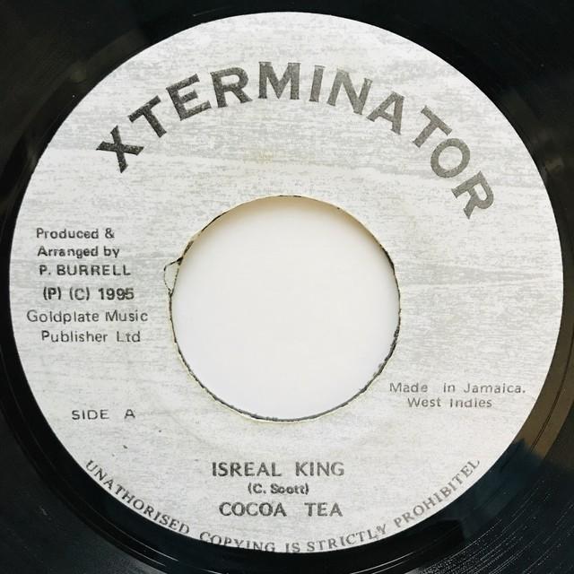 Cocoa Tea - Israel's King【7-11034】