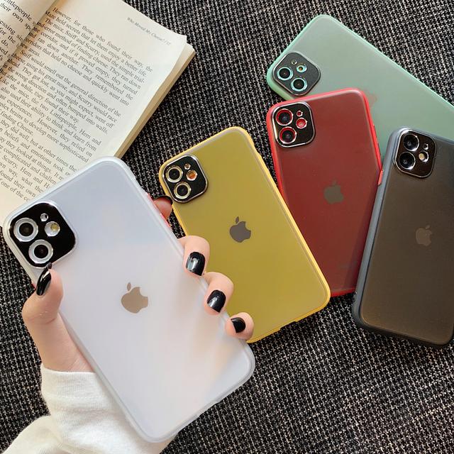 【オーダー商品】 matte color iphone case