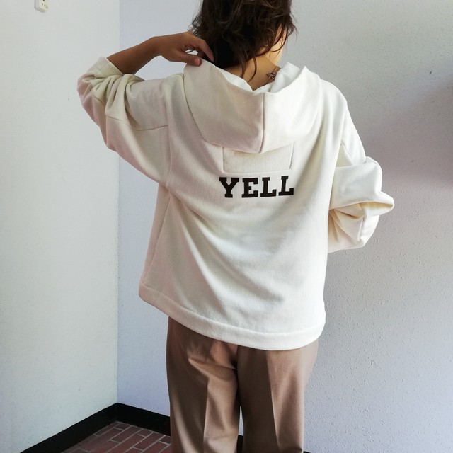 """Luv our days (""""YELL"""" Hooded Pullover )"""