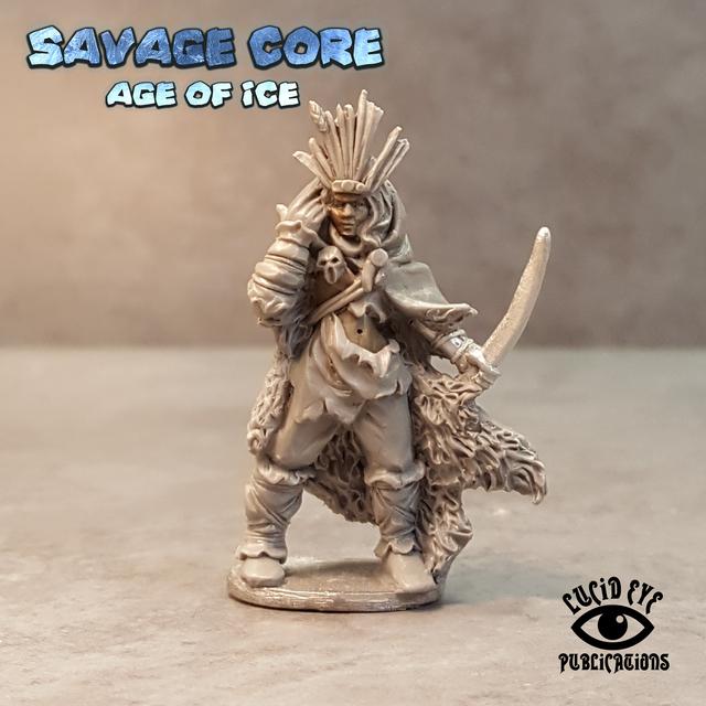 IAB004 Ice Age Amazon Boss Seratra the Foundling