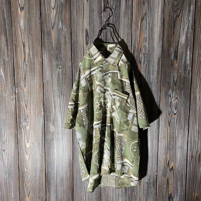[used]antique atmosphere shirt