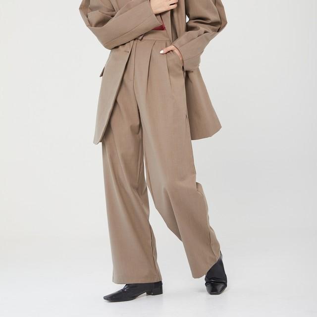 Casual suit pants(カジュアルスーツパンツ)b-066