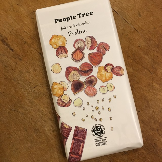 peopletreeフェアーレードチョコレート プラリネ