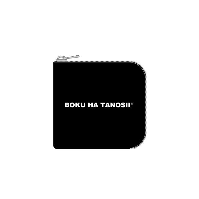 """BOKU HA TANOSII / ボクタノminiウォレット """"BLK"""""""