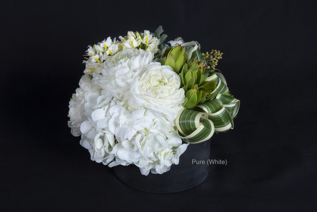 【White Day Gift ¥8,800】Preserved Flower Box / Fresh Flower Arrangement オリジナルミラー付き