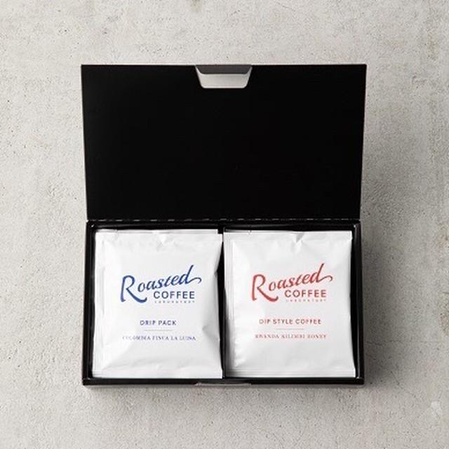 【ドリップ&ディップが楽しめるギフト!】GIFT BOX 2(Rosted COFFEE LABORATORY/ローステッドコーヒーラボラトリー)