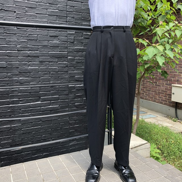 "VINTAGE""BLACK SLACKS"""