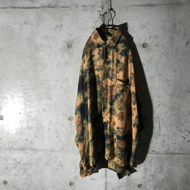 [used]darker mood flower shirt