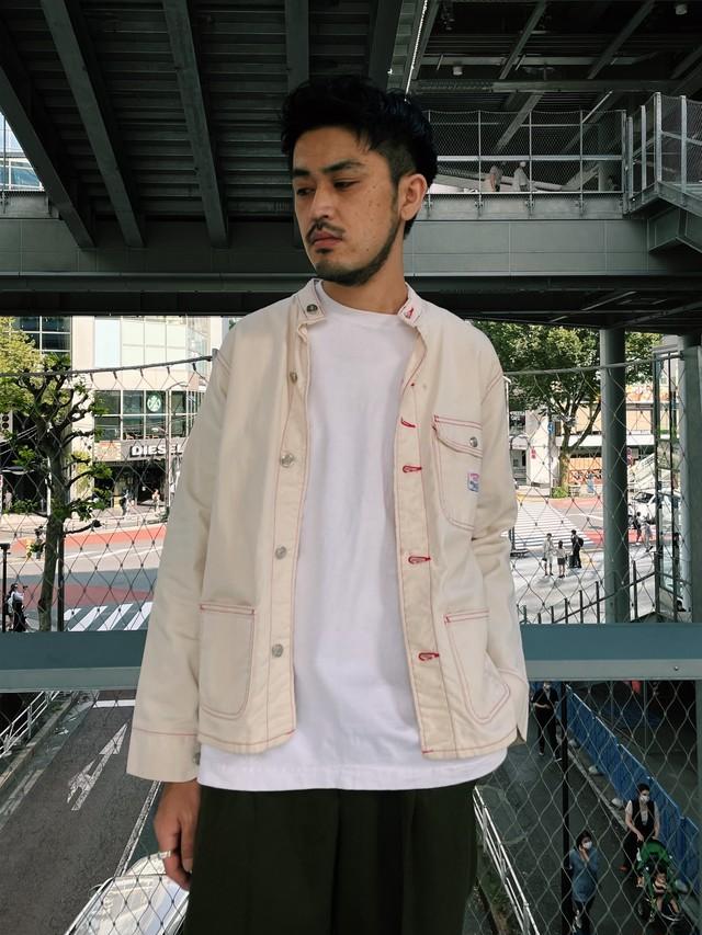 (OT311) POINTER nocollar jacket made in USA