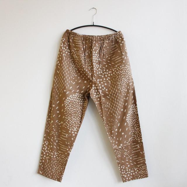 《eLfinFolk 2021SS》QiLin pants / brown / S・M(大人)