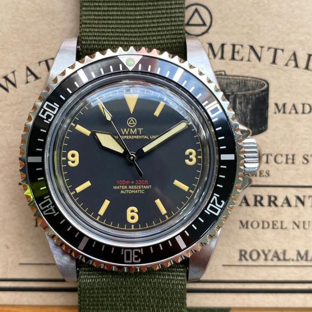 W.MT WATCH  ROYAL MARINE  369 Military (NH35) WMT1313-05