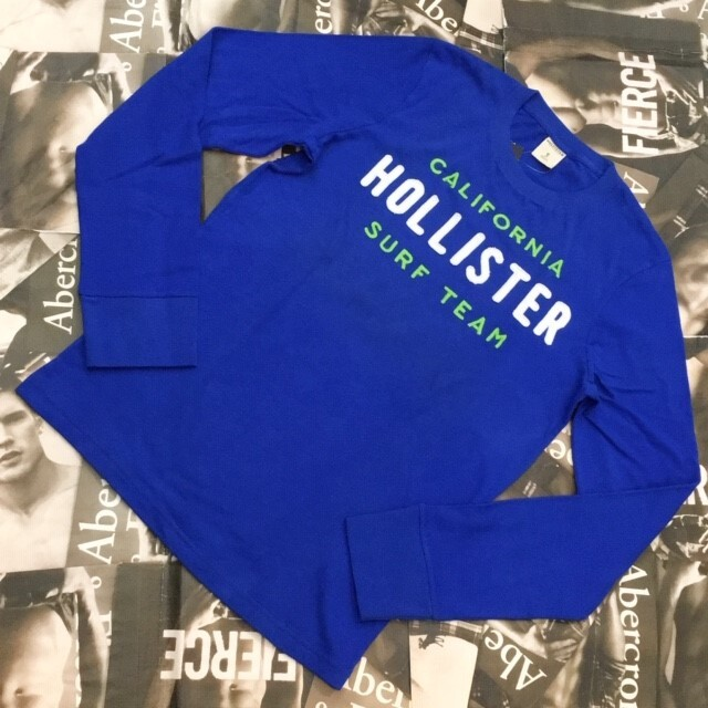 HOLLISTERHOLLISTER MENS ロンT Mサイズ