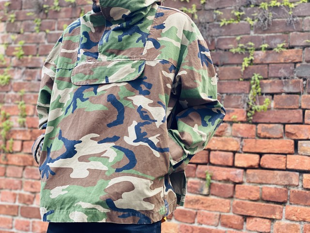 FOG FEAR OF GOD COLLECTION TWO ANORAK HOODIE CAMOUFLAGE MEDIUM 93845