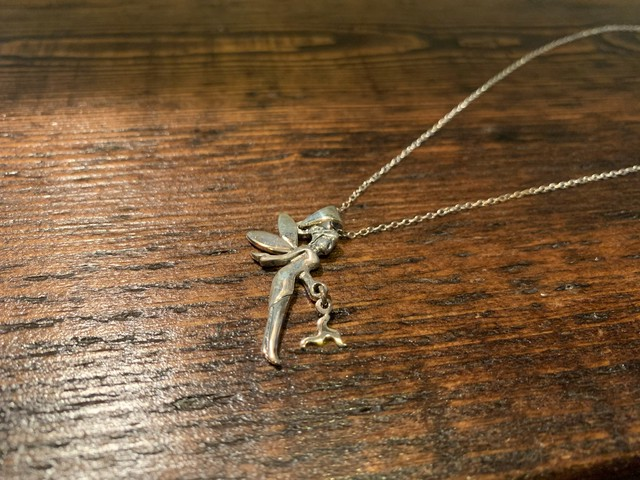 MANX FAIRY/3LEGS PENDANT WITH SILVER TRACE CHAIN
