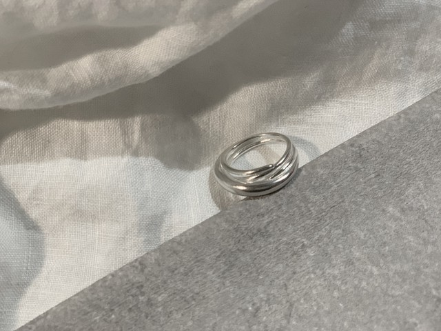 【limited 1】 Addiction Overlap ring /silver925