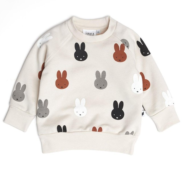 TOBIAS AND THE BEAR/Miffy & Friends sweatshirt