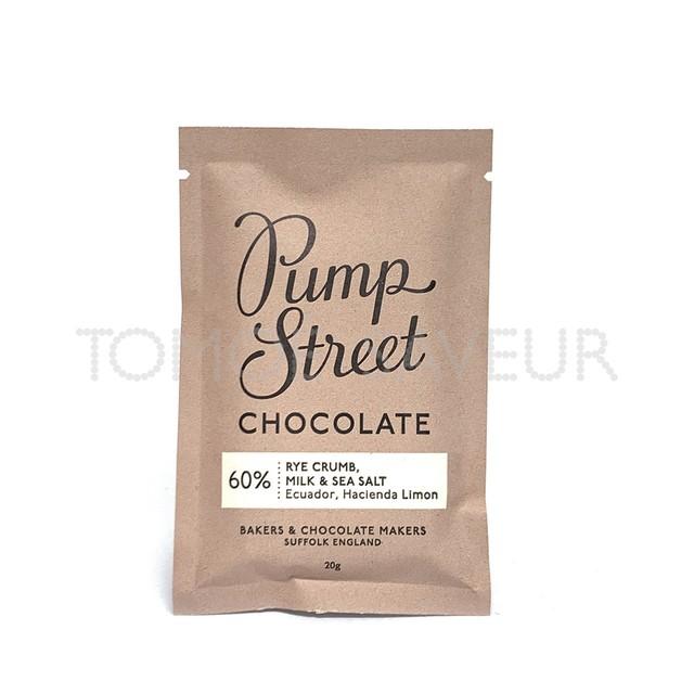パンプストリートベーカリーチョコレート (ミニバー)ライクラム ミルク&シーソルト