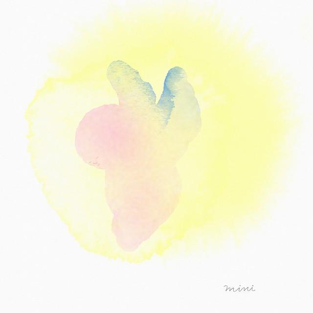 絵画 絵 ピクチャー 縁起画 モダン シェアハウス アートパネル アート art 14cm×14cm 一人暮らし 送料無料 インテリア 雑貨 壁掛け 置物 おしゃれ 天使 赤ちゃん  ロココロ 画家 : MINI 作品 : 天使の赤ちゃん