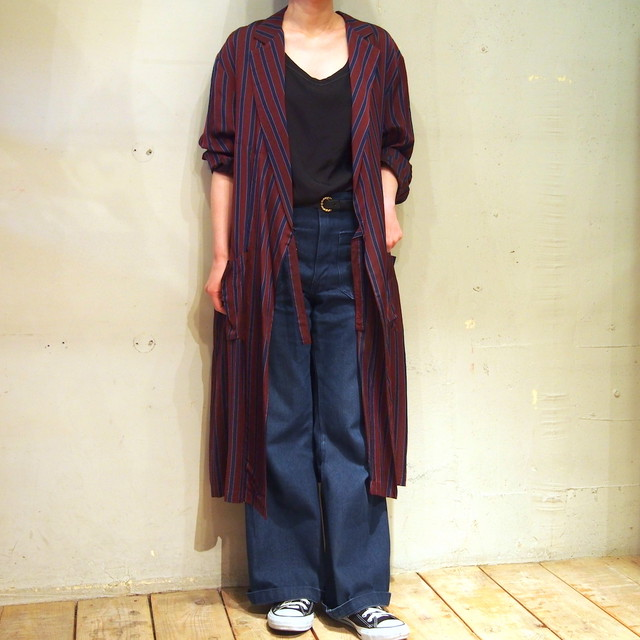 【hippiness】cupro coat(683pink) /【ヒッピネス】キュプラコート(683ピンク)