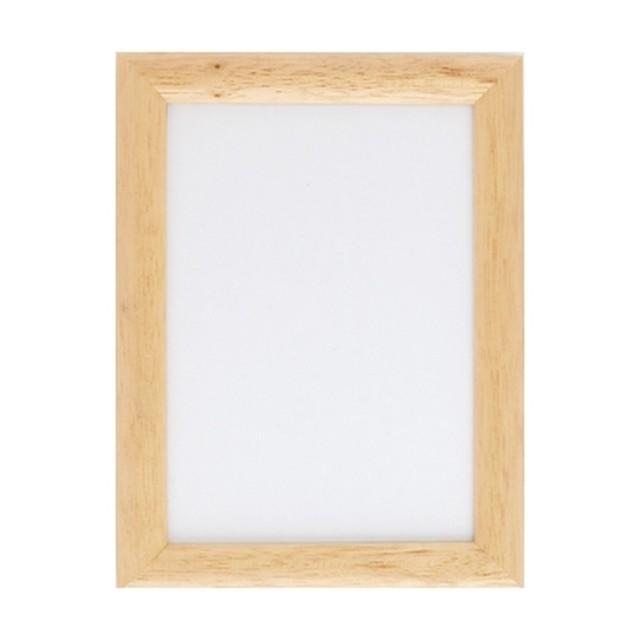 オリムパス製額縁 木製フレーム(白木)W-49:C-6999