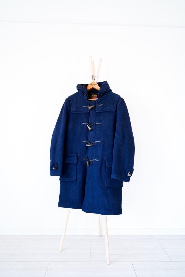 "【1970s】""La Canadienne Par Gloverall by EATON'S"" Wool Duffle Coat / v415"
