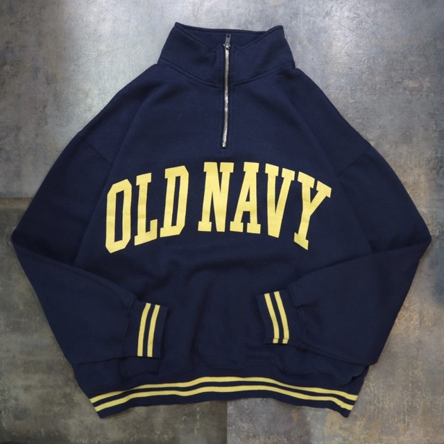 OLD NAVY half zip sweat