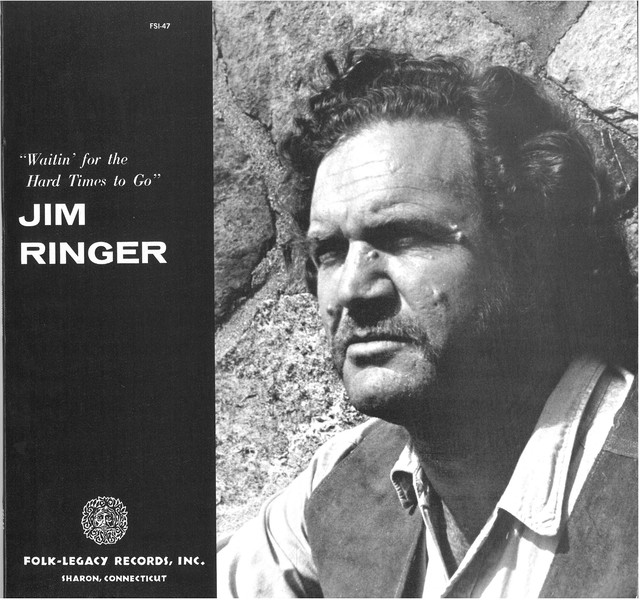 JIM RINGER / WAITIN' FOR THE HARD TIMES TO GO (LP) USA盤