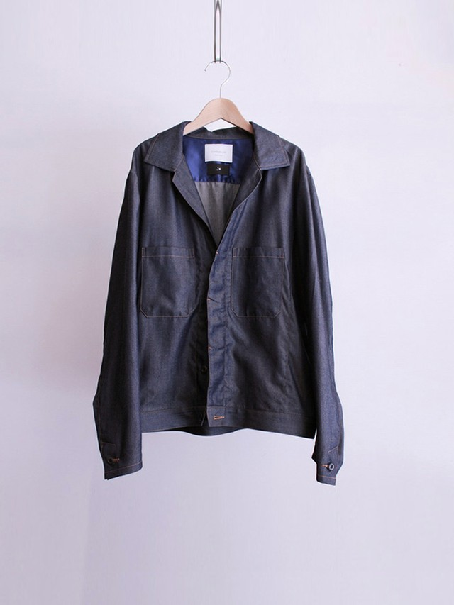 Garage.U.W TENCEL DENIM CPO BLOUSON