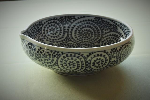 タコ唐草7寸片口鉢