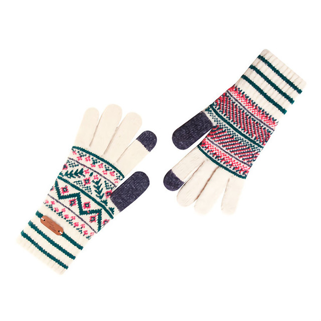 Touch screen gloves - Bohemian (BEIGE)
