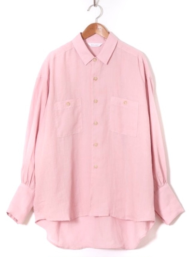 【HOLIDAY】RAMIE BIG SHIRT